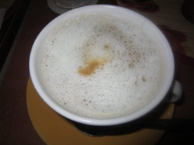 cappuccino plantaardige melk