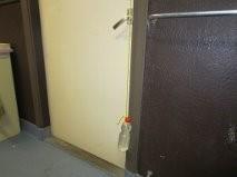 Toilet deur