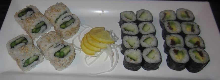 TAO div sushi hapjes