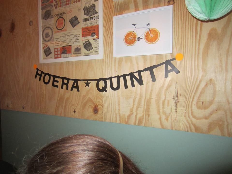 slinger hoera Quinta
