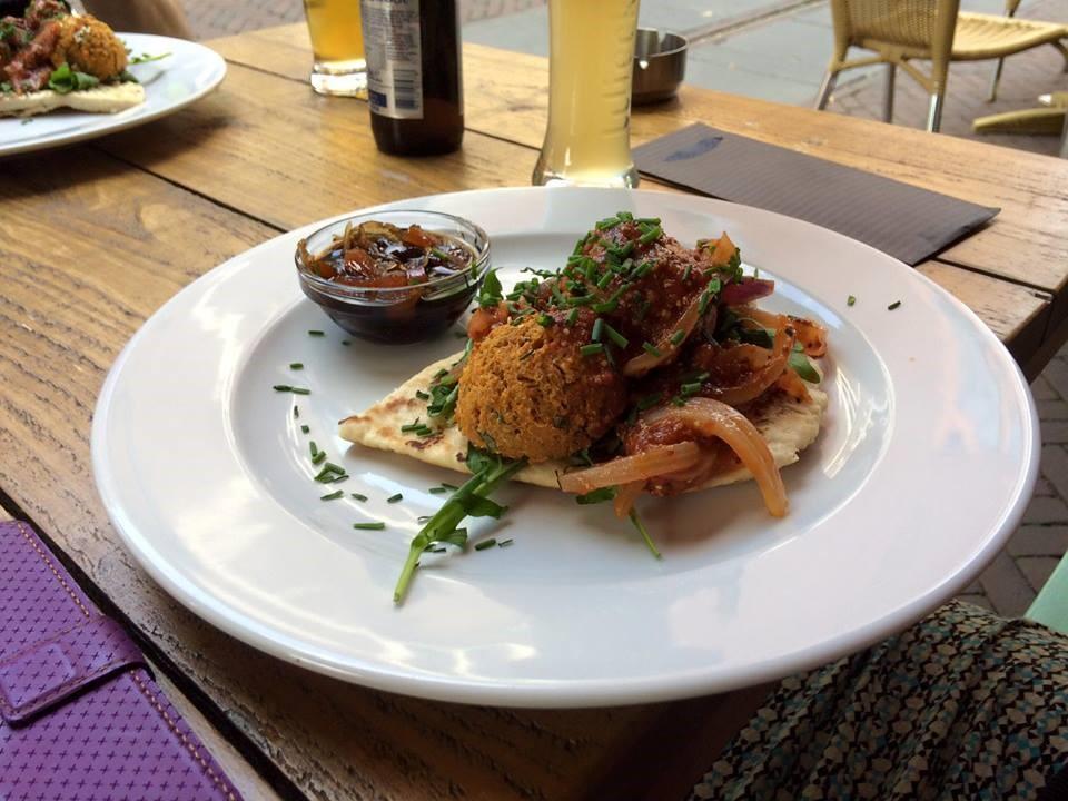 Aardappel falafel